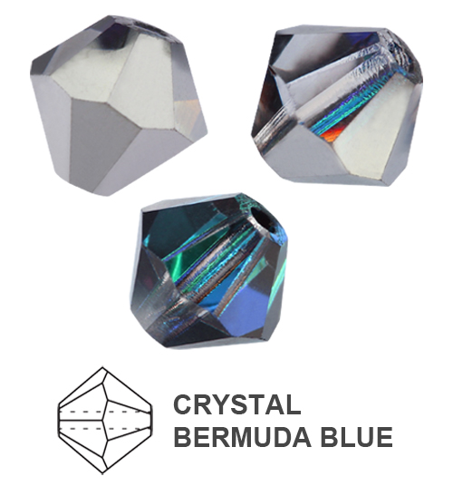 Genuine-PRECIOSA-Czech-Crystal-Rondell-Bicone-Beads-All-Colors-amp-Sizes