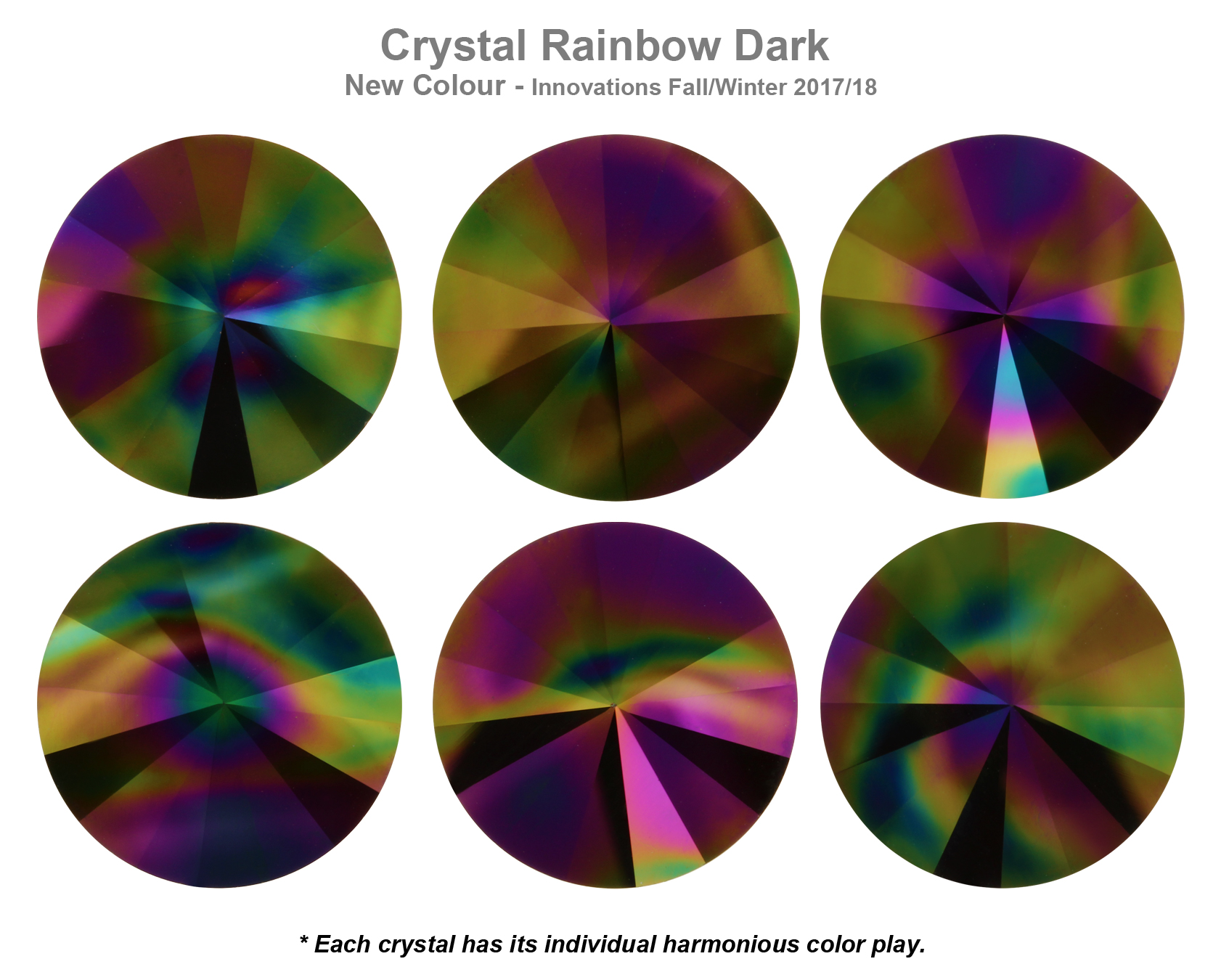 0d2a3cd06 Genuine SWAROVSKI 1122 Rivoli Round Crystals Foiled * Many Colors ...
