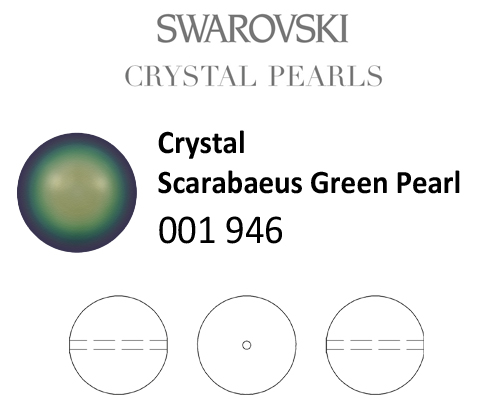 Genuine-SWAROVSKI-5810-Crystal-Round-Pearls-All-Sizes-amp-Colors thumbnail 88