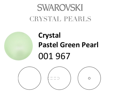 Genuine-SWAROVSKI-5818-Crystal-Round-Pearls-Half-Drilled-Many-Colors-amp-Sizes