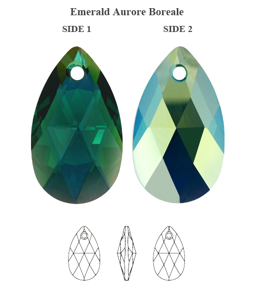 b113eaa89 Genuine SWAROVSKI 6106 Pear Shape Crystal Teardrop Pendants * All ...